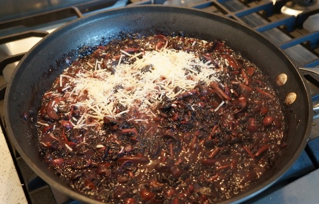 Risotto-wirh-black rice